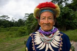 Comunità Secoya in Amazonia in Ecuador