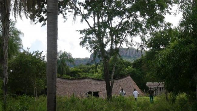 La comunitá di Cerro Guasú, dei pai tavytera