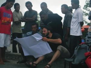 Andrea Benassi nell'ultima sua scoperta in Indonesia