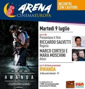 Stasera a Faenza finalmente il film RWANDA, all'Arena Cinema Europa!