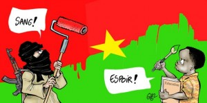 """Da """"Jeune Afrique"""" - Ouagadougou: la foudre deux fois au même endroit © Damien Glez pour JA"""