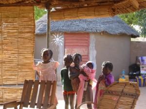 Al campment del villaggio di Tangaye
