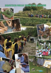 """Poster pronto delle """"Terre del Lamone"""" e dell'Associazione Culturale Civiltà delle Erbe Palustri, in attesa di riprendere gli eventi legati alla didattica e al mondo della scuola."""