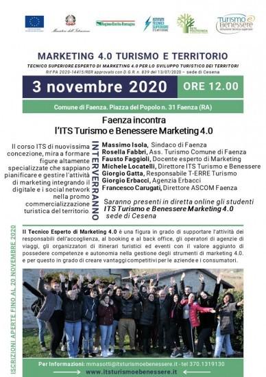 Incontro sul turismo nella Sala Consiliare del Comune di Faenza con Giorgio Erbacci, Massimo Isola e Rossella Fabbri.