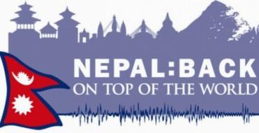 La nuova campagna promozionale su iniziativa del Ministero del Turismo e del Nepal Tourism Board è intesa a recuperare l'interesse del turismo internazionale a visitare il Nepal dopo il terremoto dello scorso Aprile.