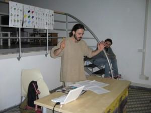 Andrea Benassi, antropologo culturale, formatore e mediatore culturale dell'Associazione T-ERRE