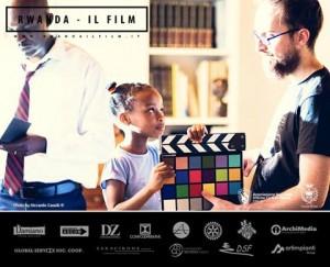 Backstage. Foto di Riccardo Caselli. La piccola Charlene con Luca Mancini. Accanto a loro Jacques.