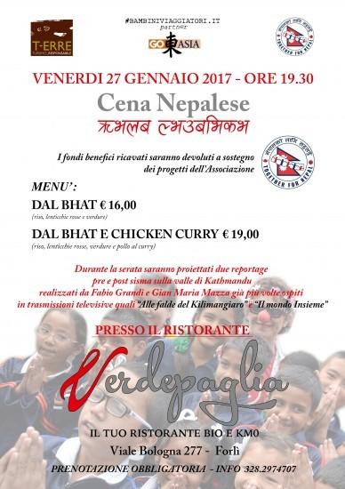 Cena Nepalese a Forlì