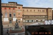Vista su Piazza del Nettuno